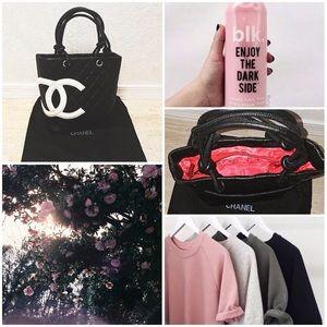 Chanel CC Cambom Calf Skin Leather Tote